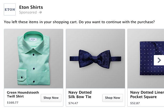 Three items for sale: a teal button-up shirt, navy bow tie, and a navy pocket square.