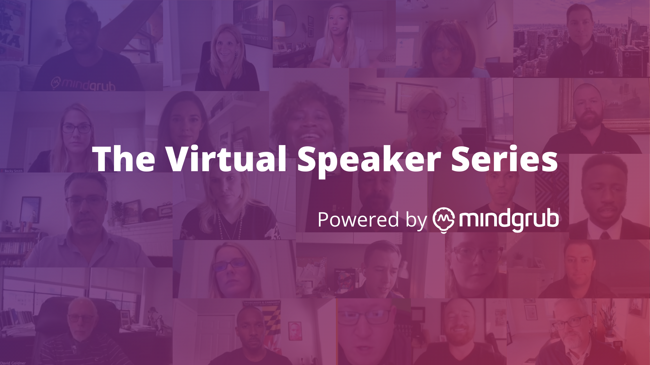 The Virtual Speaker Series - Powered by Mindgrub
